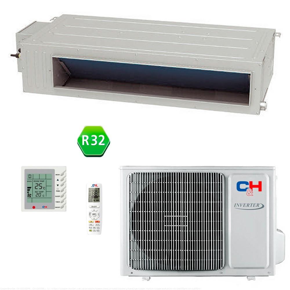 Кондиционер канальный Cooper&Hunter CH-IDS035PRK/CH-IU035RK