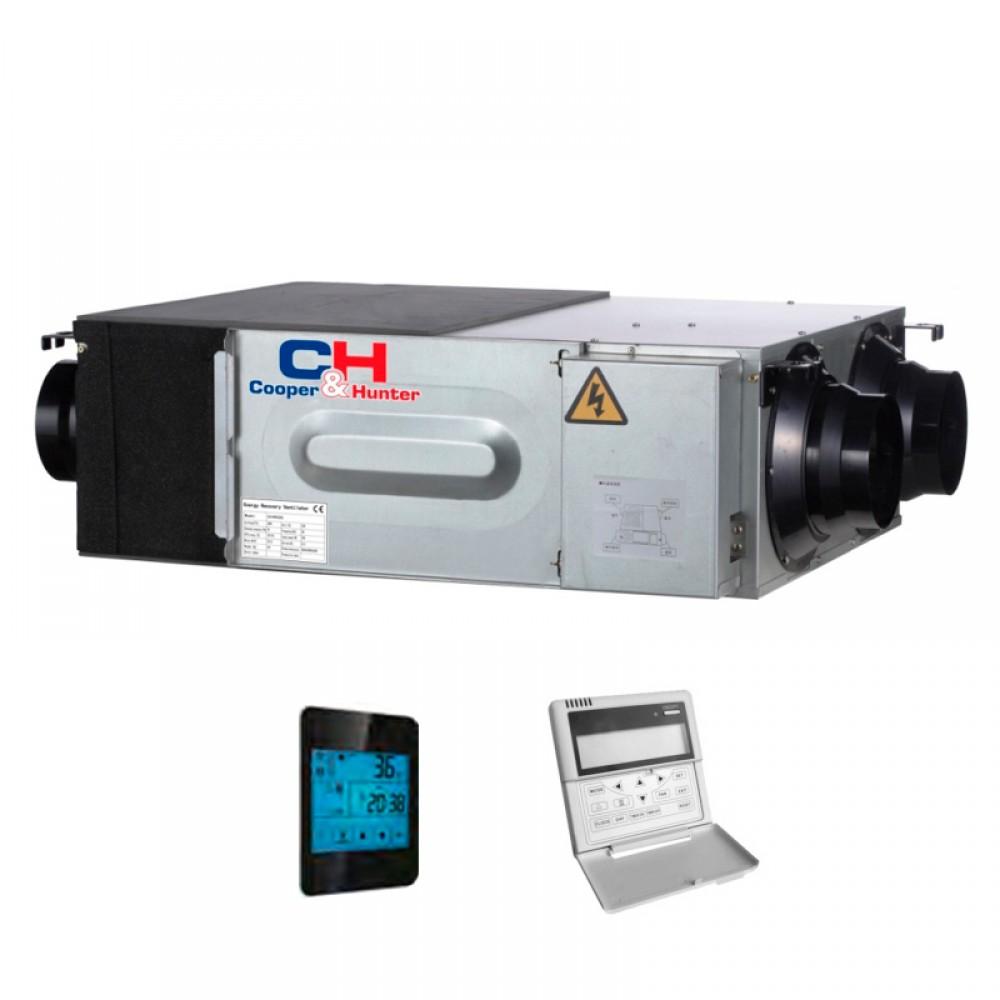 Приточно-вытяжная установка с рекуперацией тепла Cooper&Hunter CH-HRV10K2
