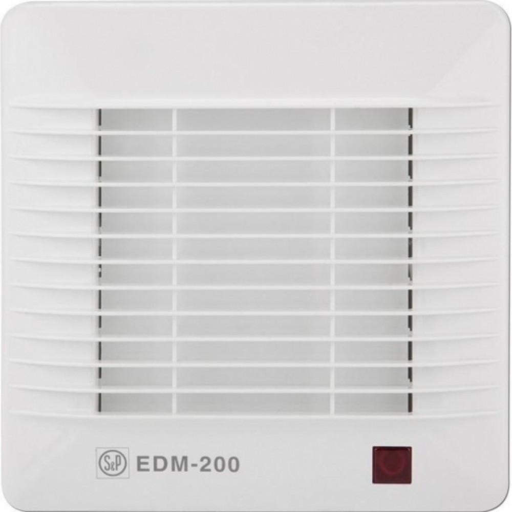 Осевой вентилятор для ванной Soler&Palau EDM-200 H