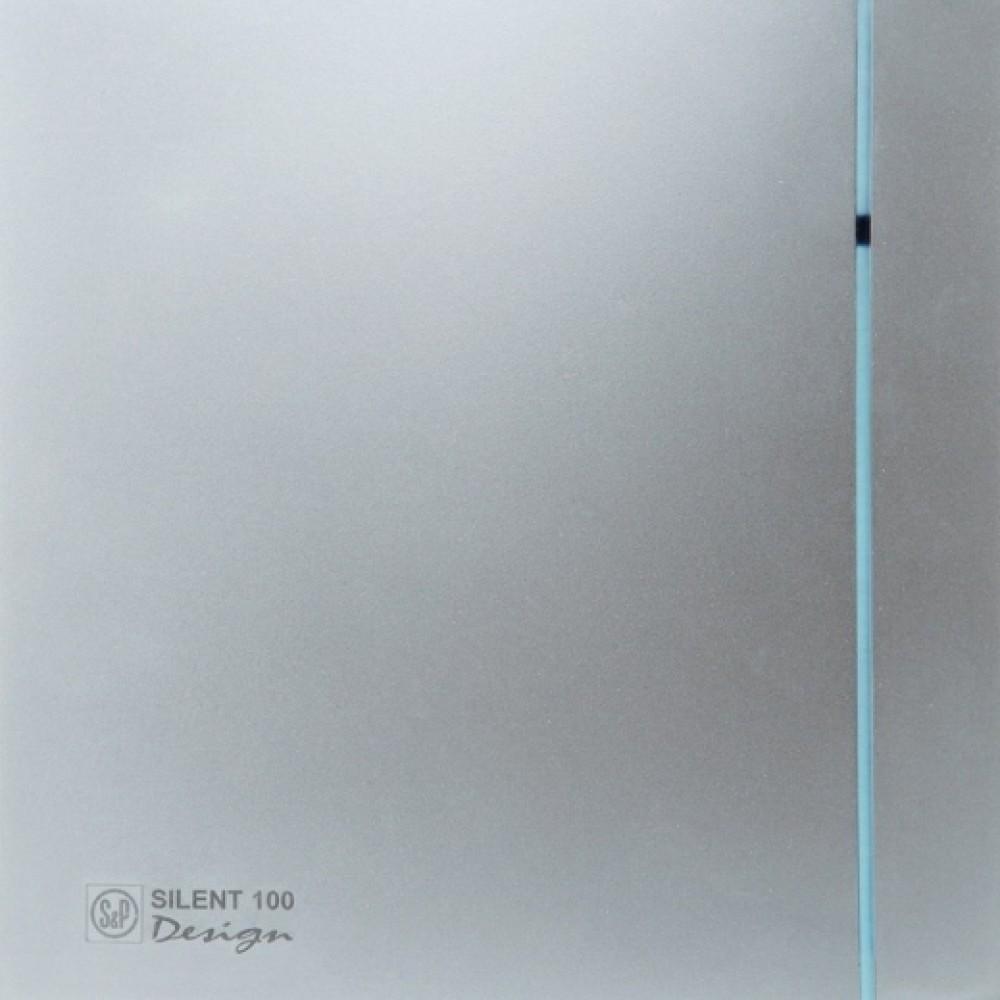 Осевой вентилятор для ванной Soler&Palau SILENT-200 CZ SILVER DESIGN -3C