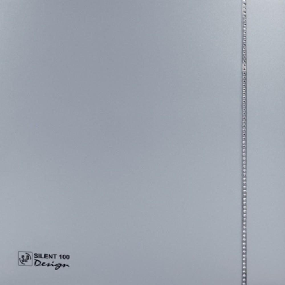 Осевой вентилятор для ванной Soler&Palau SILENT-100 CZ SILVER DESIGN SWAROVSKI