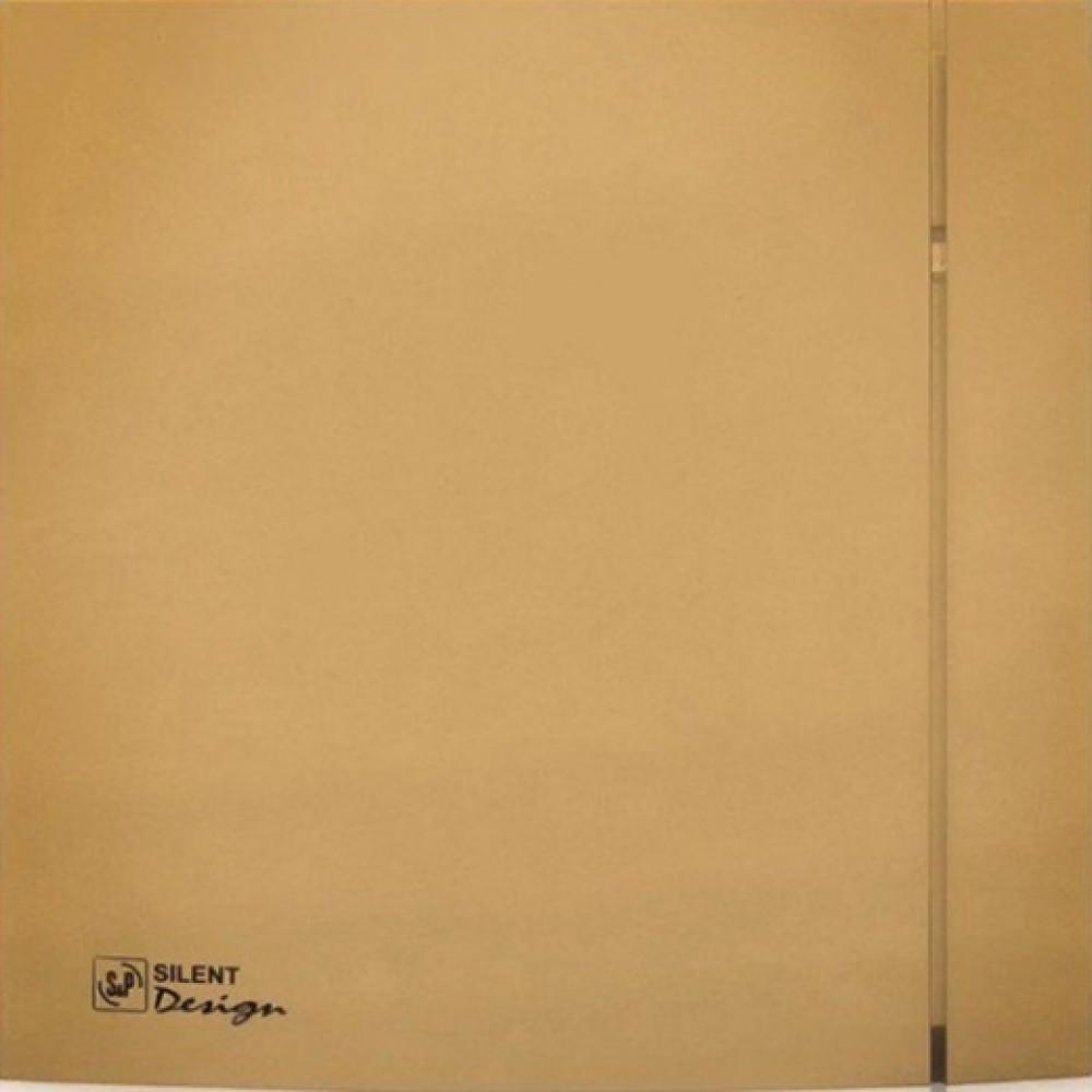 Осевой вентилятор для ванной Soler&Palau SILENT-200 CZ GOLD DESIGN -4C