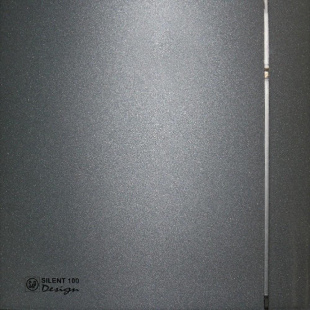 Осевой вентилятор для ванной Soler&Palau SILENT-100 CZ GREY DESIGN - 4C